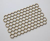 Background-honeycomb - chipboard