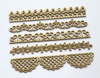 Openwork borders - chipboard