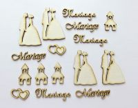 Wedding 2 - chipboard